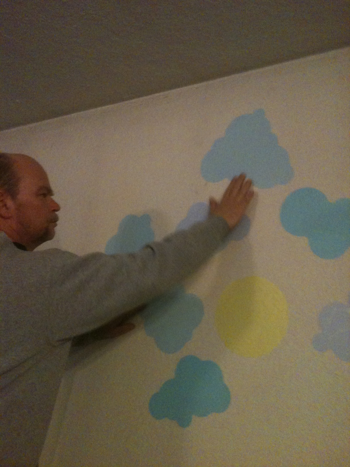 Here is Rex helping me put up the wall decals I received. This set is called Sunny Day/Starry Night set. It is really different than other wall decals I ...  sc 1 st  Kaisy Daisyu0027s Corner & wall decals u2013 Kaisy Daisyu0027s Corner