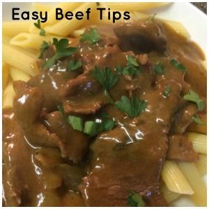 Easy Beef Tips